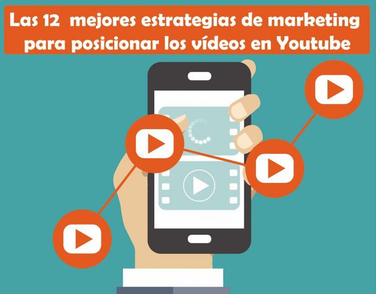 12 mejores estrategias de marketing para posicionar vídeos en Youtube